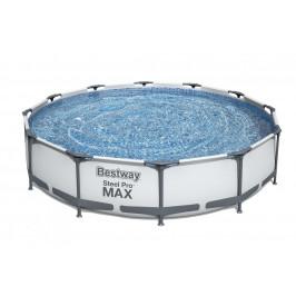 Bazén Bestway s konstrukcí 3,66 x 0,76m světle šedý s pískovou filtrací 2m3/hod