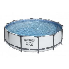 Bazén Bestway s konstrukcí 4,27 x 1,07m světle šedý set s pískovou filtrací 4m3/hod