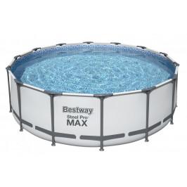 Bazén Bestway s konstrukcí 4,27 x 1,22m světle šedý set s pískovou filtrací 4m3/hod