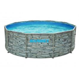 Bazén Florida 3,05 x 0,91 m - dekor KÁMEN bez filtrace