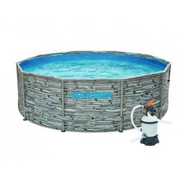 Bazén Florida 3,05 x 0,91 m - dekor KÁMEN písková filtrace 2m3/hod