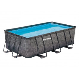 Bazén Florida Premium 2,15 x 4,00 x 1,22 m - dekor RATTAN písková filtrace 4m3/hod
