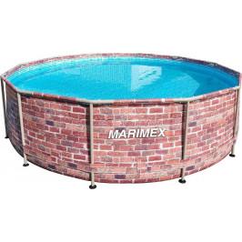 Bazén Florida 3,66 x 0,99 m - dekor CIHLA, s pískovou filtrací 4m3/hod