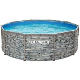 Bazén Florida 3,66 x 1,22 m, dekor - KÁMEN, s pískovou filtrací 4m3/hod