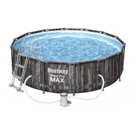 Bazén Bestway s konstrukcí 4,27 x 1,07m dřevěný set