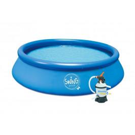 Bazén Swing pool 3,66 x 0,91m písková filtrace 2m3/hod