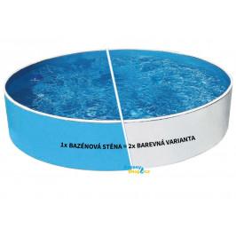 Bazén AZURO BLUE / WHITE 3,6 x 0,9m bez příslušenství