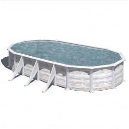 Bazén GRE Nordic 7,3 x 3,75 x 1,32m set
