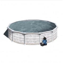 Bazén GRE Nordic 3,5 x 1,32m set + písková filtrace 4,5m3/h