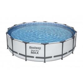 Bazén Bestway s konstrukcí 4,57 x 1,07m světle šedý set