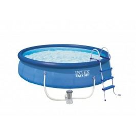 Bazén INTEX 4,57 x 1,07m kartušová filtrace + schůdky