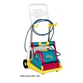 Automatický vysavač DOLPHIN 2001 s vozíkem