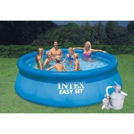 Bazén INTEX 4,57 x 1,22m set + písková filtrace 3,7m3/hod
