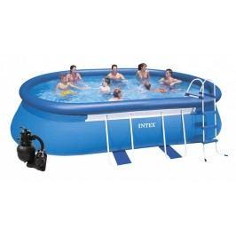 Bazén INTEX 3,05 x 5,49 x 1,07m s pískovou filtrací 4m3/hod