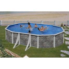 Bazén GRE Iraklion 6,1 x 3,75 x 1,2m set
