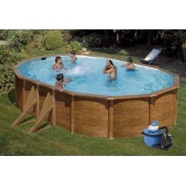 Bazén GRE Pacific 5,0 x 3,0 x 1,2m set + písková filtrace 4,5m3/h