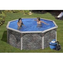 Bazén GRE Iraklion 3,5 x 1,2m set + písková filtrace 4,5m3/h
