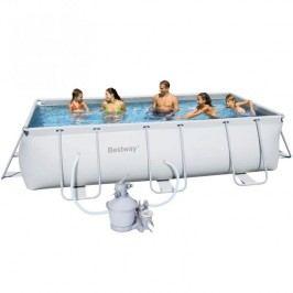 Bazén Bestway s konstrukcí 4,12 x 2,01 x 1,22m písková filtrace 3,7m3/hod