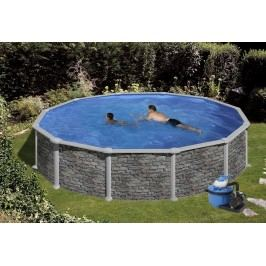 Bazén GRE Iraklion 4,6 x 1,32m set + písková filtrace 6m3/h