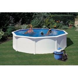 Bazén GRE Fidji 3,5 x 1,32 m set + písková filtrace 4,5m3/h