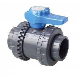 Kulový dvoucestný ventil PVC  - 75 mm – Easyfit