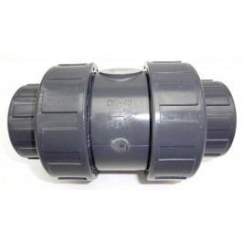 PVC Kuželový zpětný ventil 50 mm