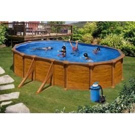 Bazén GRE Pacific 6,1 x 3,75 x 1,32m set + písková filtrace 6m3/h