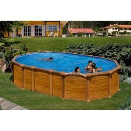 Bazén GRE Pacific 7,3 x 3,75 x 1,32m set bez vzpěr
