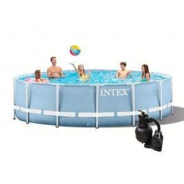 INTEX Prism Frame 4,57 x 1,07m set  + písková filtrace 4,5m3/hod