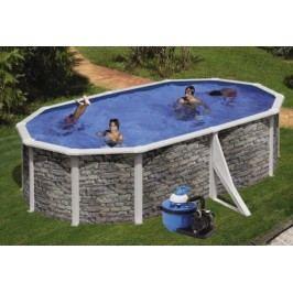 Bazén GRE Iraklion 5,0 x 3,5 x 1,2m set + písková filtrace 4,5m3/h
