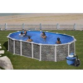 Bazén GRE Iraklion 5,0 x 3,0 x 1,32m set bez vzpěr + písková filtrace 6m3/h