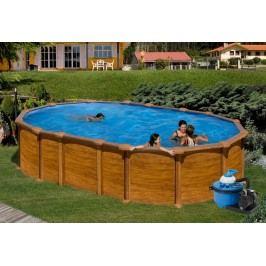 Bazén GRE Pacific 5,0 x 3,0 x 1,32m set bez vzpěr + písková filtrace 6m3/h