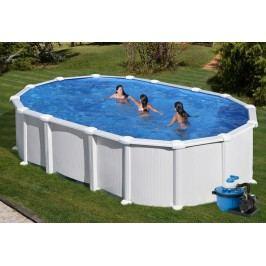 Bazén GRE Fidji 5,0 x 3,0 x 1,32m set bez vzpěr + písková filtrace 6m3/h