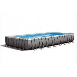 Bazén INTEX Rectangular Ultra Frame 9,75 x 4,88 x 1,32m set +  písková filtrace 10m3/hod
