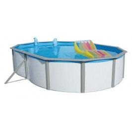Bazén Nuovo de Luxe Duo 6,4 x 3,66 x 1,2m set + písková filtrace 8m3/hod
