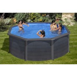Bazén GRE Graphite 3,5 x 1,2m set + písková filtrace 4,5m3/h