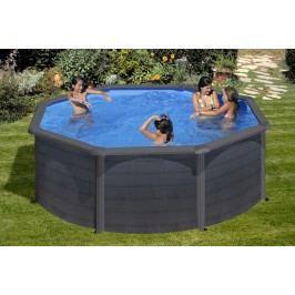 Bazén GRE Graphite 4,6 x 1,2m set + písková filtrace 6m3/h