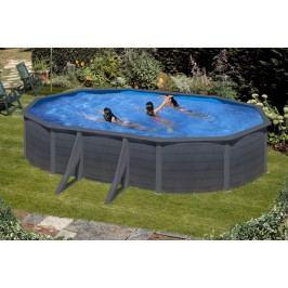 Bazén GRE Graphite 6,1 x 3,75 x 1,2m set + písková filtrace 6m3/h