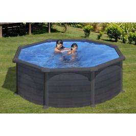 Bazén GRE Graphite 3,5 x 1,32m set + písková filtrace 4,5m3/h
