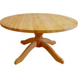 Unis Stůl dřevěný 00444 kulatý