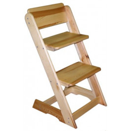 ATAN Dětská rostoucí židle - buk