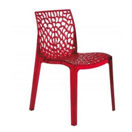 Stima Židle Gruvyer 1 Transparente - průhledná