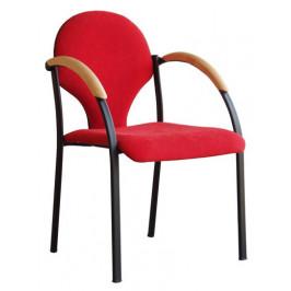 Alba Konferenční židle Neon - dřevěné područky