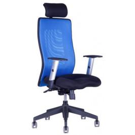 Office Pro Kancelářská židle Calypso Grand s podhlavníkem - dvoubarevná