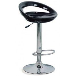 Autronic Barová židle AUB-1030 BK - černá