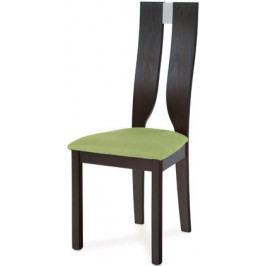 Autronic Jídelní židle BC-22407 BK - barva wenge