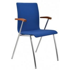 Alba Konferenční židle Ibis s područkami - čalouněná