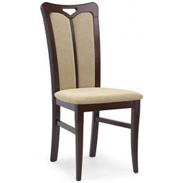 Halmar Jídelní židle Hubert 2, černý ořech