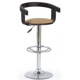 Halmar Barová židle H-8 wenge/coffee