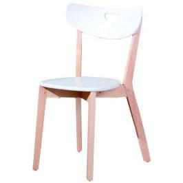 Halmar Dřevěná židle Peppi Zelená